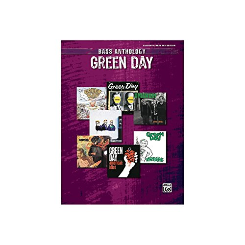 Alfred Green Day Anthology Bass Guitar Tab Songbook