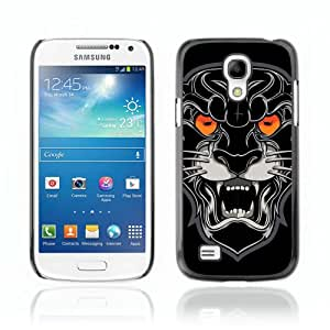 CaseCaptain Carcasa Funda Case - Samsung Galaxy S4 MINI / Plack Panther Illustration /