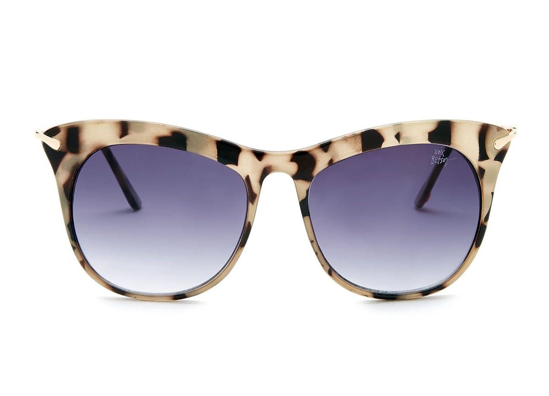 Betsey Johnson Women's Extreme Cat Eye Wayfarer Sunglasses - Tokyo Tortoise