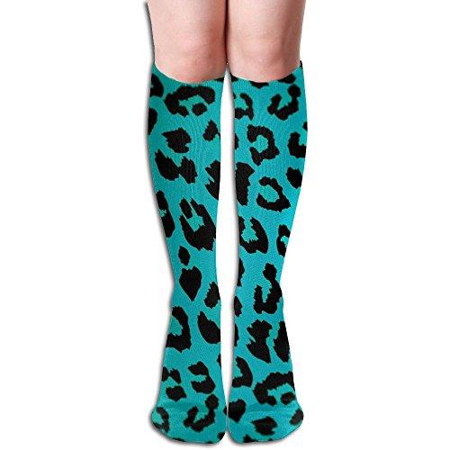 The Sticky Cat Unisex Cheetah Print Leopard Pattern Running Socks Sports Socks Football Socks 19.69 - Cats Print Cheetah