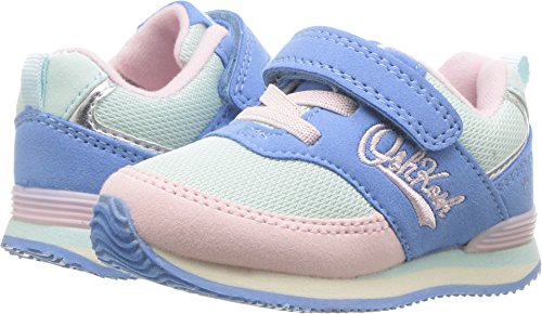 OshKosh B'Gosh Baby Sinclair Girl's and Boy's Retro Jogger Sneaker, Blue, 9 M US Toddler