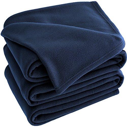 Bare Home Polar Fleece Cozy Bed Blanket - Hypoallergenic Pre