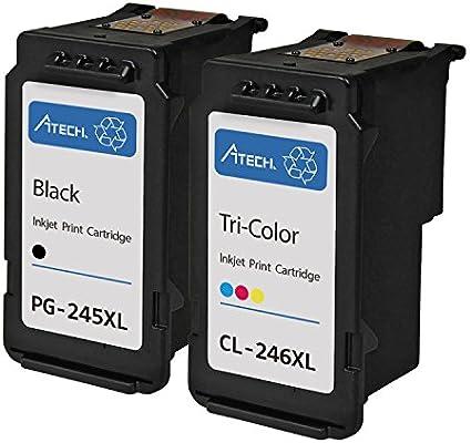 A7 - PG-245 X L/CL-246 REMANUFACTURADO negro y color alto ...