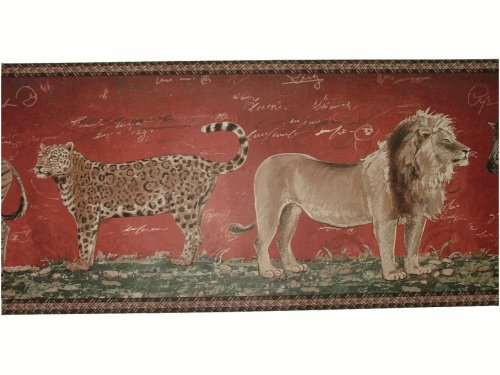 African Animals Wallpaper Border
