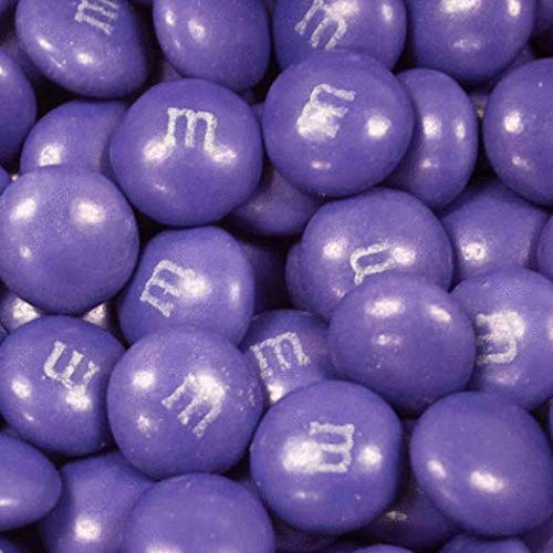 Premium Purple Candy Buffet - (15+ Pounds) Includes Hershey's Kisses, M&M's, Candy Coated Popcorn, Jelly Belly Jelly Beans & More - Feeds approx 24-36 people by WH Candy (Image #2)