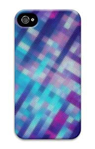 iphone 4 case cheap cases patterns abstract purple parallax 112 3D Case for Apple iPhone 4/4S