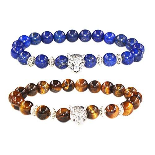 MIKINI Healing Gemstones Elastic Bracelet