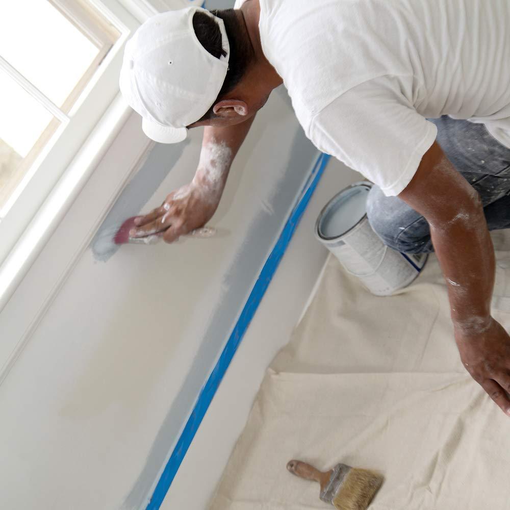Trimaco SuperTuff 8 oz Premium Contractor Grade Heavyweight Canvas 6-feet x 9-feet