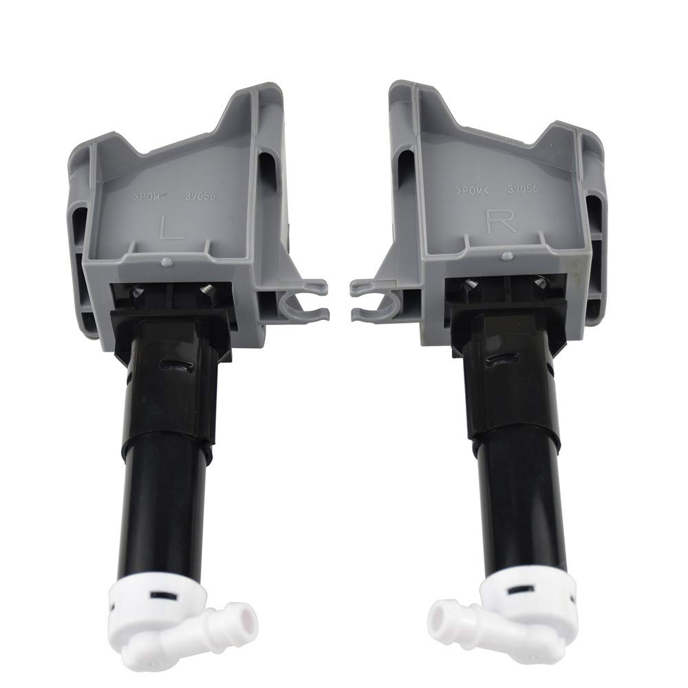 Headlight Washer Nozzle 8265A643 8265A644 for Mitsubishi ASX 2006-2010 by Malcayang