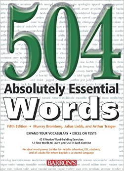 Book 504 Absolutely Essential Words