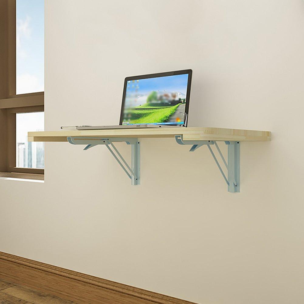 折りたたみ壁掛けコンピュータテーブルソリッドウッド壁掛けダイニングテーブルサイドテーブルワニス (サイズ さいず : 60*40cm) B07DNLV2XN 60*40cm 60*40cm