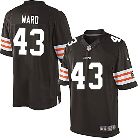 Amazon.com : T.J. Ward Jersey: Cleveland Browns #43 Limited Brown ...