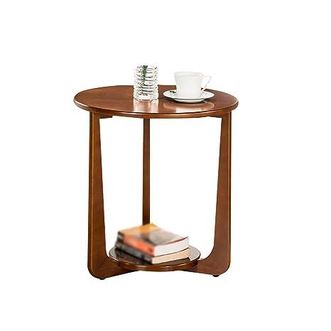 Amazon.com: Mesita de noche XUE de madera maciza mesa de ...