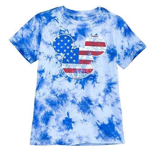 Disney Mickey Mouse Americana T-Shirt for Boys Size XS (4) Multi