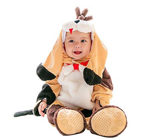 Baby Boys Tiny Bear Bunting Infant Girls Winter Dino Clothing Set Toddler Animal Costume