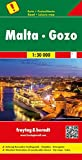 Malta - Gozo, Road Map 1:30,000 (English, Spanish, French, Italian and German Edition)