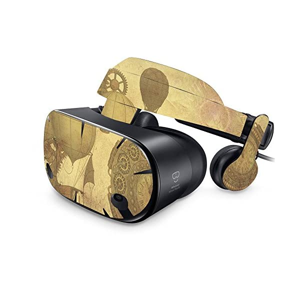 MightySkins Skin Compatible with Samsung Odyssey VR - Steam Punk Paper | Protective, Durable, and Unique Vinyl Decal wrap Cover | Easy to Apply, Remove, and Change Styles | Made in The USA 3