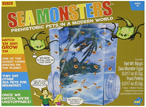 Toysmith 29536 Sea Monsters Playset