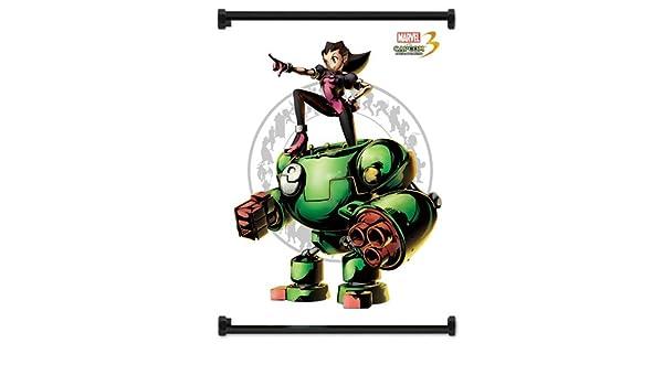Amazon.com: Marvel Vs Capcom 3 Tron Bonne Game Fabric Wall ...