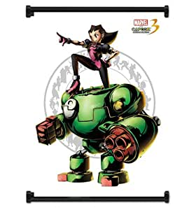 "Marvel vs. Capcom 3: Fate of 2 Worlds Game Tron Bonne Fabric Wall Scroll Poster (16""x21"") Inches"