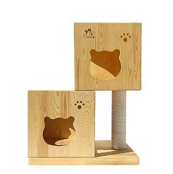 YAMEIJIA Cubo de Rubik pequeño Gato casa Gato casa Escalada ...