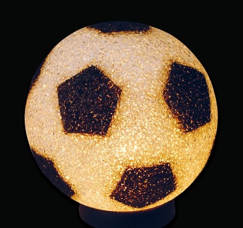 9'' SPARKLE SOCCER LAMP, Case of 12 by DollarItemDirect