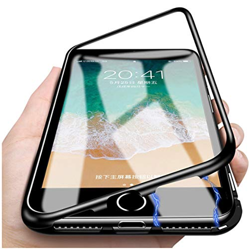 on sale bbbfe cc717 Amazon.com: for iPhone Xs Max Magnetic Case,Luxury Aluminum Metal+ ...
