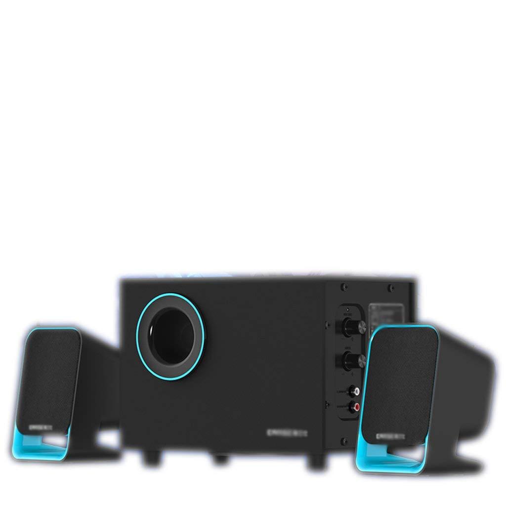 Blau ATR Q9 Notebook Holzlautsprecher Multimedia Desktop Audio blau (Farbe  Orange)