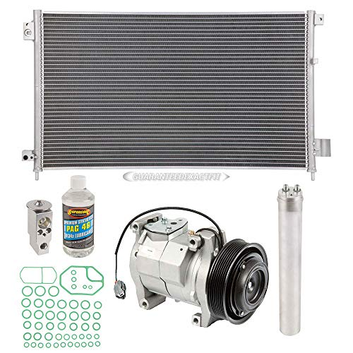 A/C Kit w/AC Compressor Condenser & Drier For Honda Accord 2003-2007 - BuyAutoParts 60-82465CK New ()