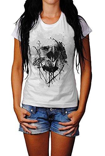 Eagle-II T-Shirt Frauen, Mädchen mit stylischen Motiv von Paul Sinus