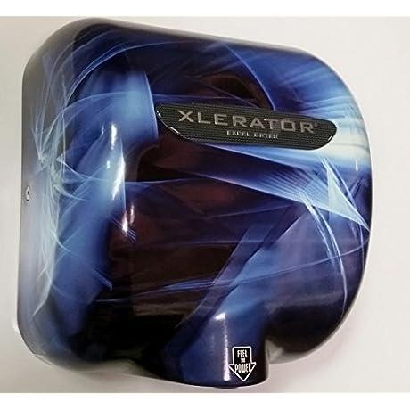 Excel Dryer Xlerator Hand Dryer XL BF Blue Fusion ProDryers Design 110 120 Volt 1500 Watts 12 5 Amp