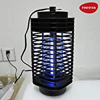 FINIVIVA Electric Mosquito Insect Killer Led Lamp | Fly Trap Bug Insect Killer Trap Lamp Anti Mosquito Repellent for Home and Garden
