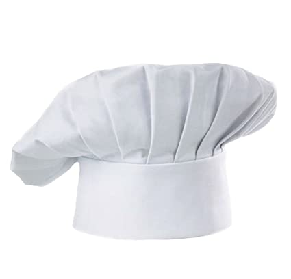 Amazon Com Chef Hat Adjustable Elastic Baker Kitchen