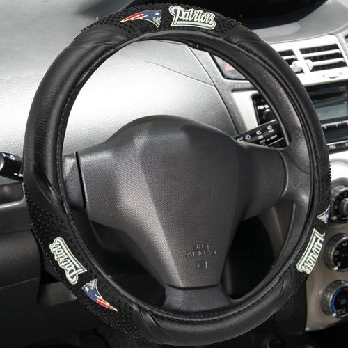 - Fremont Die NFL Massage Grip Steering Wheel Cover