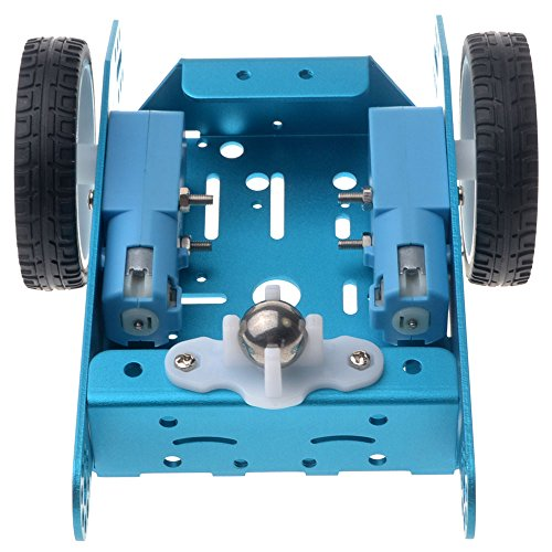Allpartz Smart Robot Car Blue Chassis with Metal Gear Motorfor DIY Learning Kit (Blue)