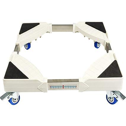 Ruedas Móvil Especial Base para Uso Doméstico Electrodomésticos Ruedas para Lavadora Ruedas De Base Ajustable para