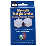 UCO Citronella Tealight Candles (Pack of 6) by UCO