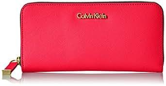 Calvin Klein Women's Hayden Zip Around Wallet Hayden Zip Around Wallet, Asphalt, One Size