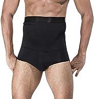 Panegy Men's Shapewear High-Waist Slimming Body Shaper Tummy Control Shapewear Briefs Butt Li