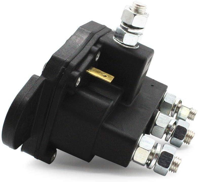Motore per verricello di rel/è XuBa 24450BX 6660-110 12 V invertire linterruttore di solenoide