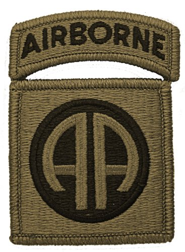 82nd Airborne Multicam Patch with Airborne Tab - Army Wwii Patches