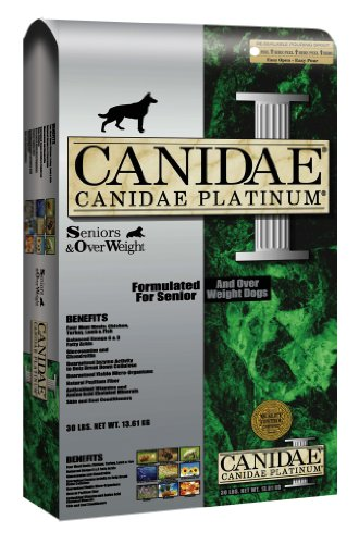 Canidae Dry Dog Food for Senior and Overweight Dogs, Platinum Formula, 30-Pound, My Pet Supplies