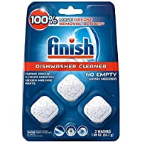 """In-Wash Dishwasher Cleaner: Clean Hidden Grease and Grime, 3 ct """".1 Pack (3 Count)"""""""