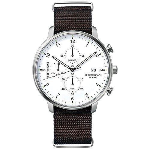 ISSEY MIYAKE watch Men's C Sea Ichiro Iwasaki design chronograph NYAD006