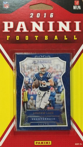 Indianapolis Colts 2016 Panini Factory Sealed Team Set with Andrew Luck, Frank Gore, Hilton plus