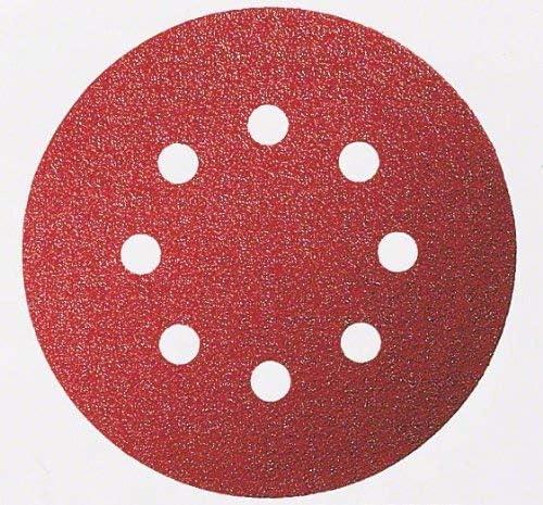 115mm Lot de 5 120 Grain Disque Abrasif C430 pour Ponceuses Orbitales