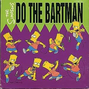 Do The Bartman The Simpsons Lp Vinyl Record Geffen