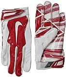Nike Vapor Jet 3.0 Receiver Gloves White/Red Men's Medium M GF0217-166