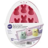 2105-5760 Wilton Easter Bunny Shaped Silicone Treat Mold