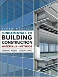 img - for Fundamentals of Building Construction: Materials and Methods, 5th Edition book / textbook / text book